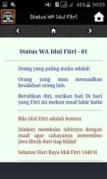 Status WA Idul Fitri screenshot 3