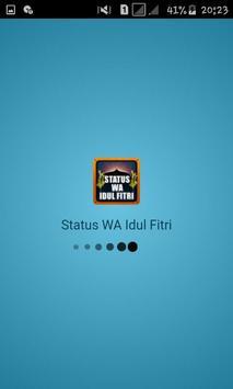 Status WA Idul Fitri poster