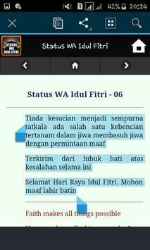 Status WA Idul Fitri screenshot 4