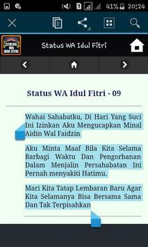 Status WA Idul Fitri screenshot 5