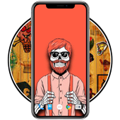 Hipster Wallpaper HD icon