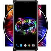 Neon Animals Wallpaper HD icon