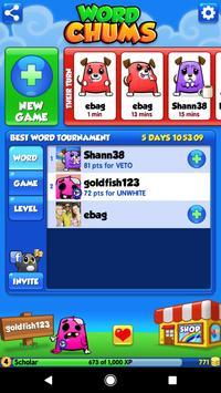 Word Chums screenshot 1