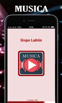 Top Musica Grupo Ladrón Mix poster