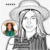 Pencil Sketch Art : Tap Sketch icon