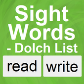 Sight Words - Dolch List icon