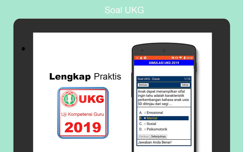 Soal Ukg 2020 Uji Kompetensi Guru For Android Apk Download