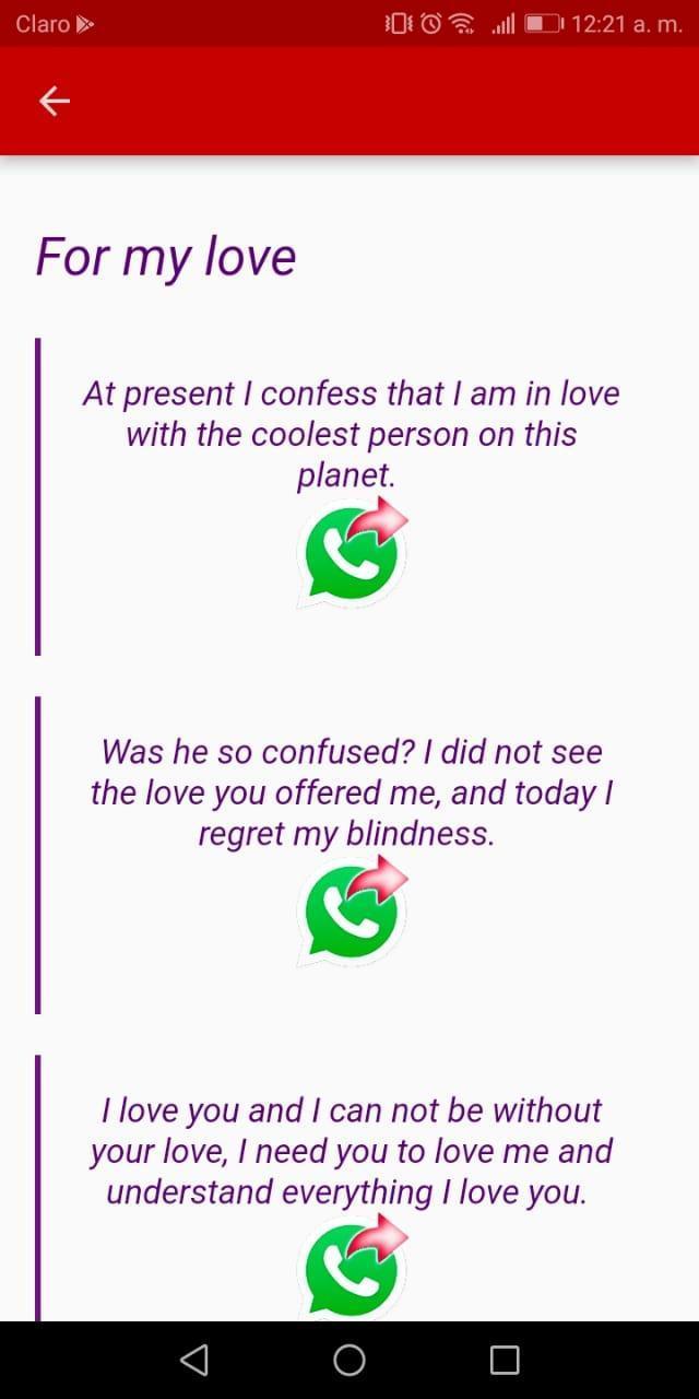 Frases De Amor Para Mi Novio для андроид скачать Apk