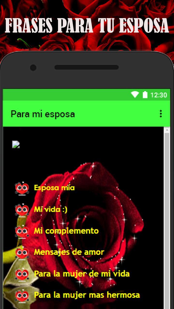 Frases De Amor Para Mi Esposa для андроид скачать Apk