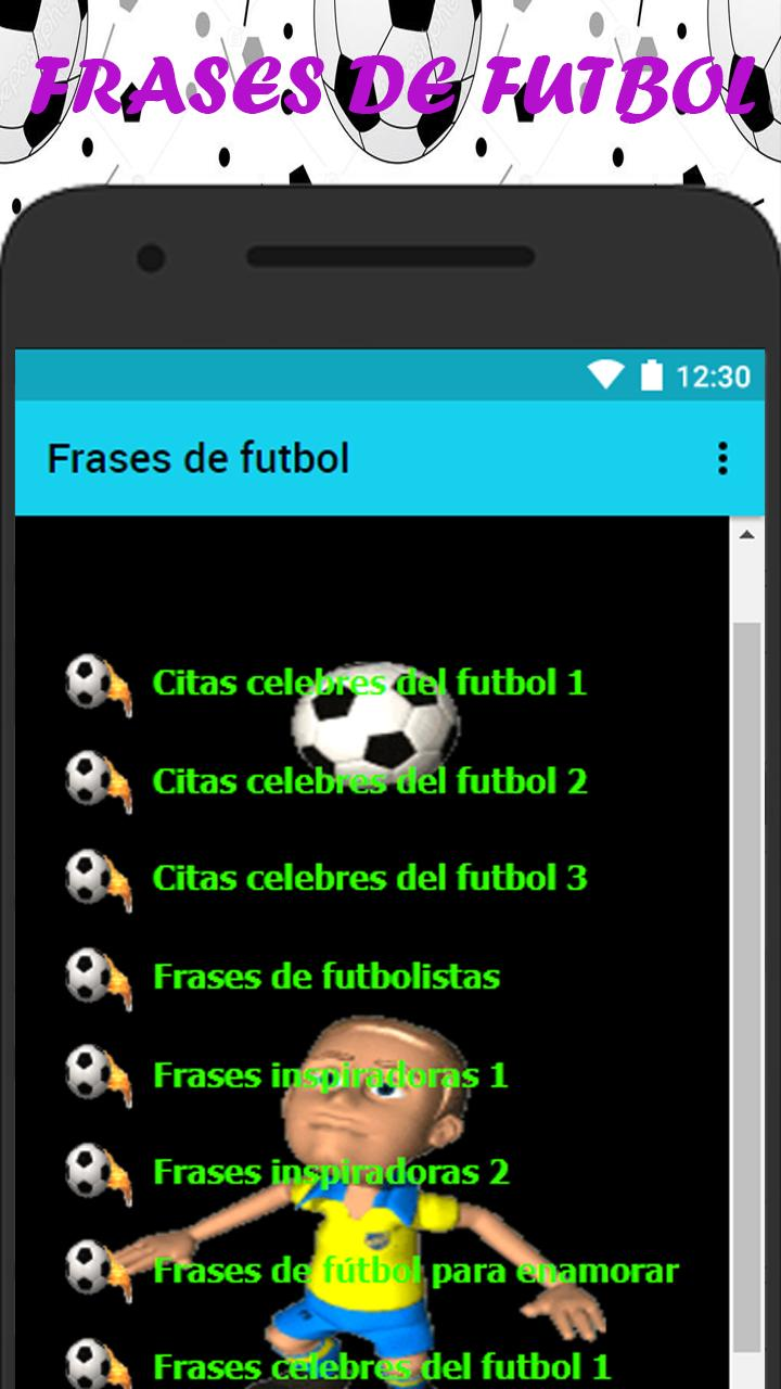 Frases De Futbol For Android Apk Download