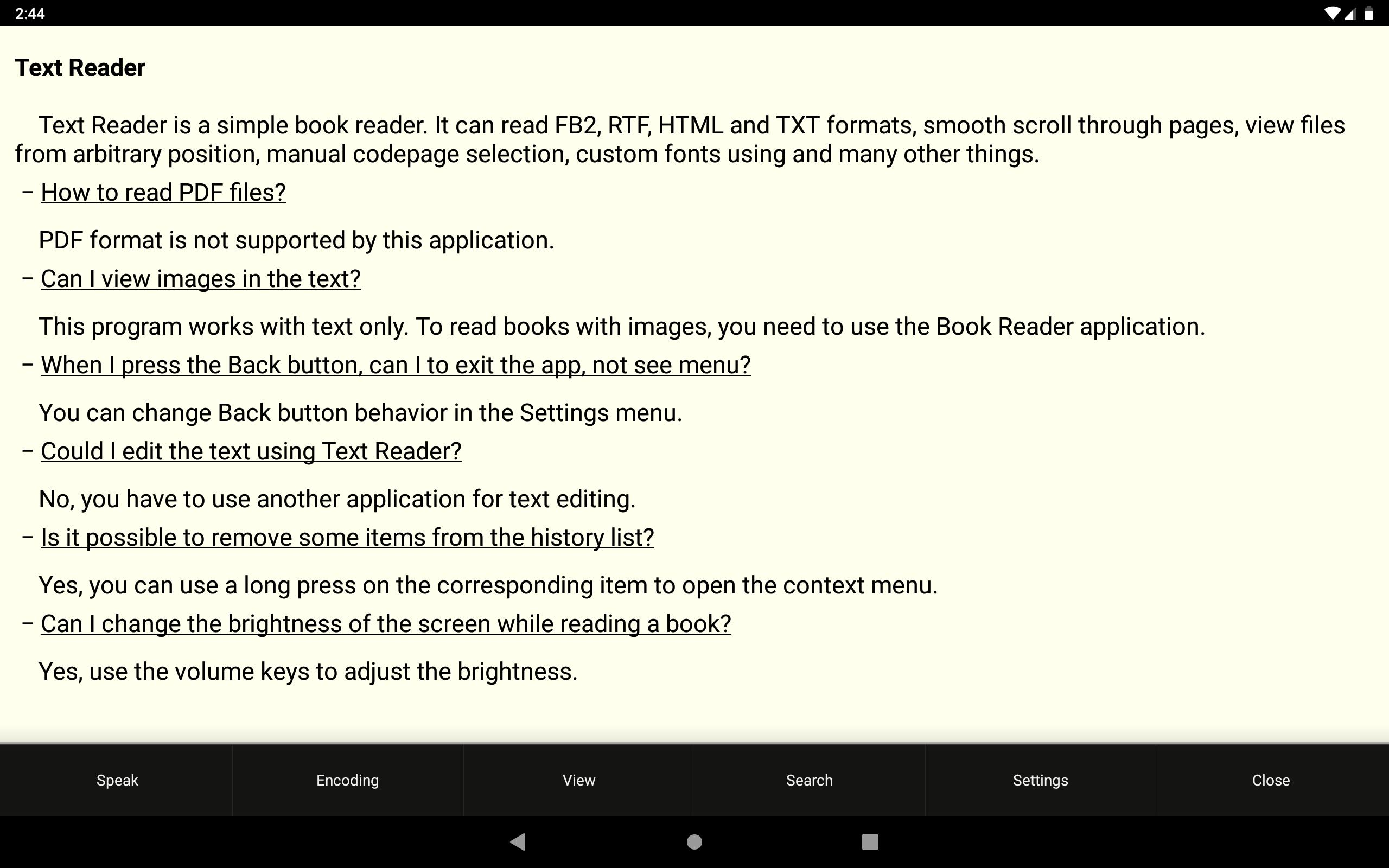 Text Reader for Android - APK Download