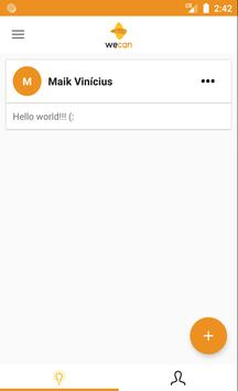 WeCan - Social Network screenshot 1