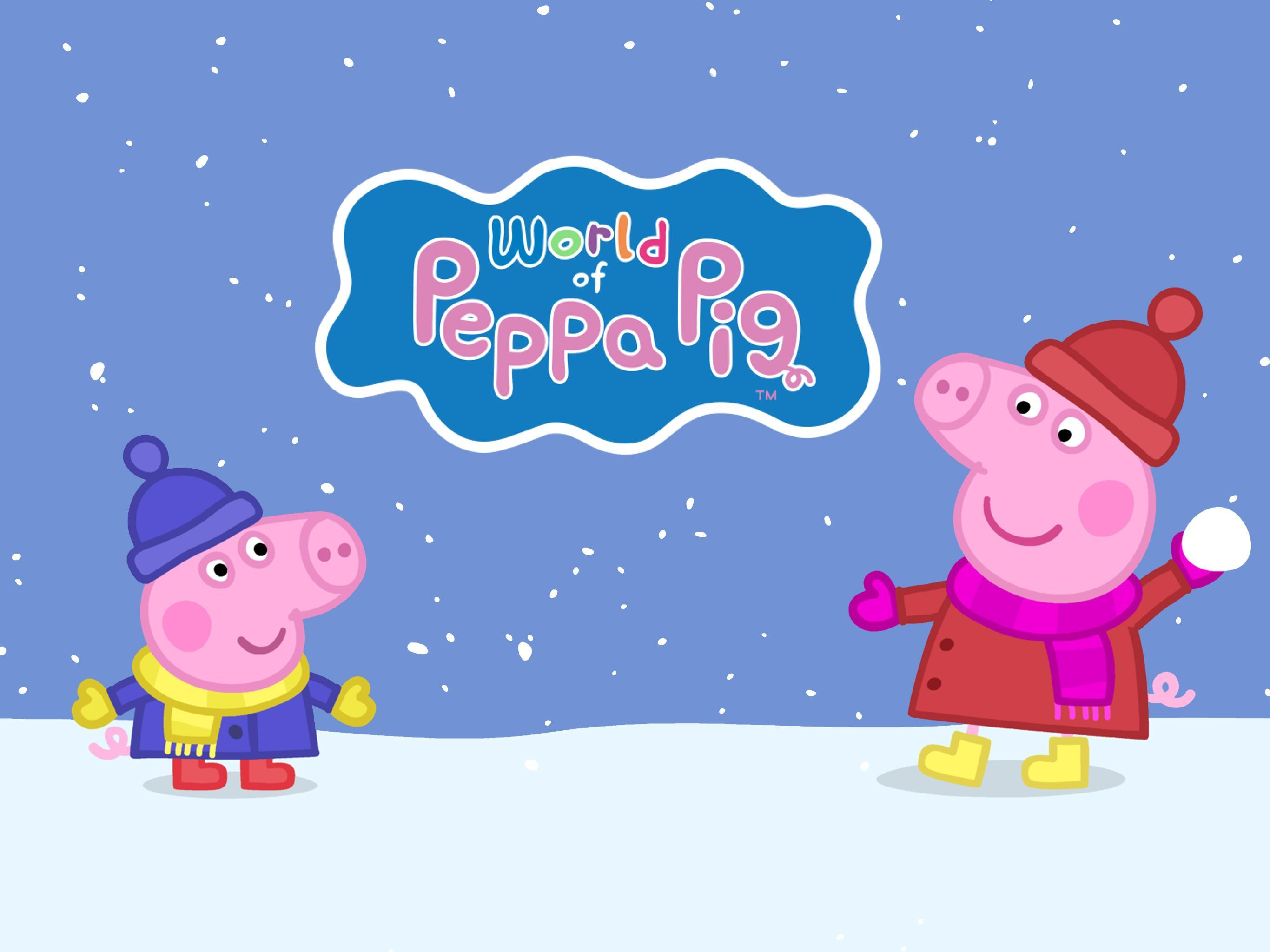 World Of Peppa Pig Kids Learning Games Videos Para