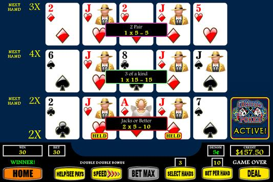 Ultimate X Video Poker poster