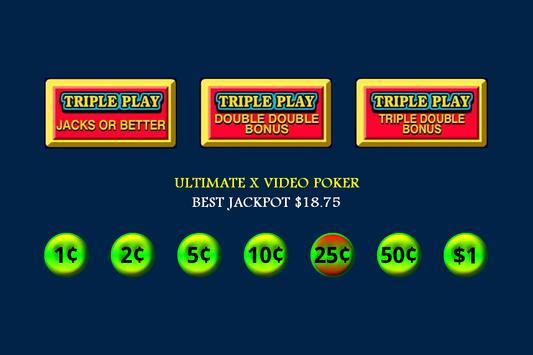 Ultimate X Video Poker screenshot 2