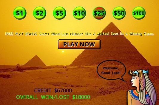 Cleopatra Keno - High Limit screenshot 2