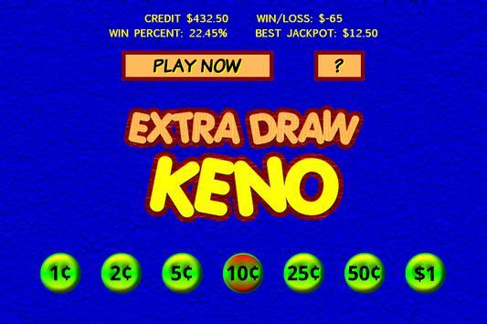 Extra Draw Keno screenshot 2
