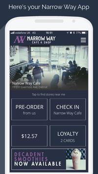 Narrow Way Cafe poster