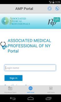 AMP Urology by Pep Talk Health screenshot 1