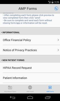 AMP Urology by Pep Talk Health screenshot 3