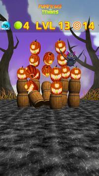 Pumpkins vs Tennis - Halloween smash & knockdown screenshot 3