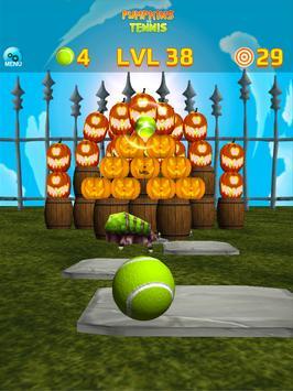Pumpkins vs Tennis - Halloween smash & knockdown screenshot 15