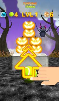 Pumpkins vs Tennis - Halloween smash & knockdown screenshot 16