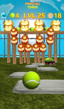 Pumpkins vs Tennis - Halloween smash & knockdown screenshot 19