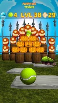 Pumpkins vs Tennis - Halloween smash & knockdown screenshot 1