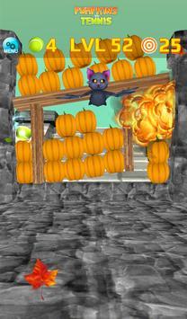 Pumpkins vs Tennis - Halloween smash & knockdown screenshot 20