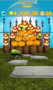 Pumpkins vs Tennis - Halloween smash & knockdown screenshot 21