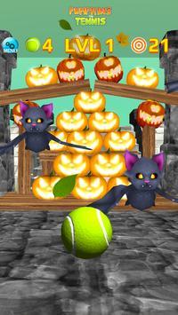 Pumpkins vs Tennis - Halloween smash & knockdown screenshot 5
