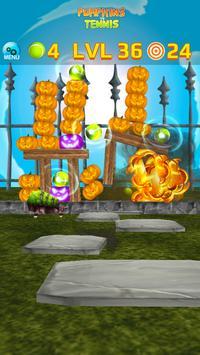 Pumpkins vs Tennis - Halloween smash & knockdown screenshot 6