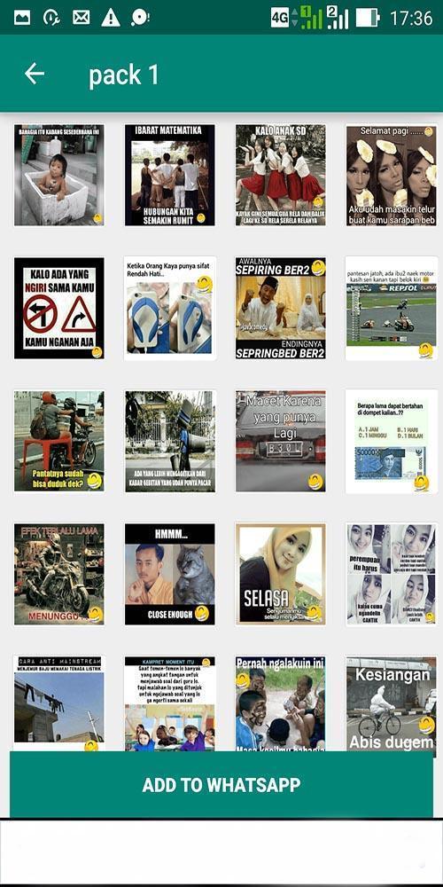 5000 Stiker Wa Perang Gambar Lucu Wastickerapp Para Android Apk Baixar