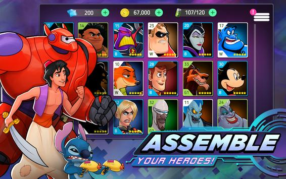 Disney Heroes screenshot 1
