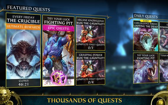 Warhammer Quest: Silver Tower -Turn Based Strategy स्क्रीनशॉट 10