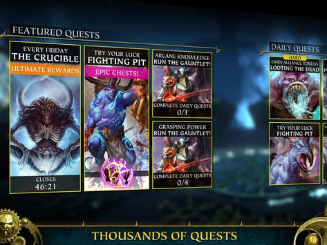 Warhammer Quest: Silver Tower -Turn Based Strategy screenshot 10