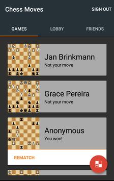 Chess Moves 截圖 1
