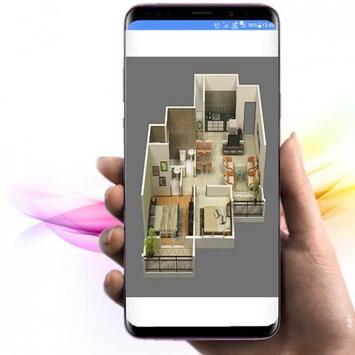 Quy hoạch kiến trúc nhà 3D ảnh chụp màn hình 3