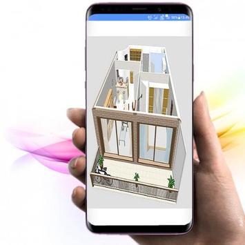 Quy hoạch kiến trúc nhà 3D ảnh chụp màn hình 1