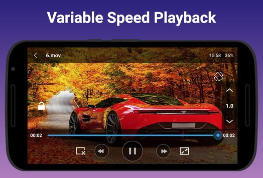 Free Video Player - All-in-One Video Player ảnh chụp màn hình 5