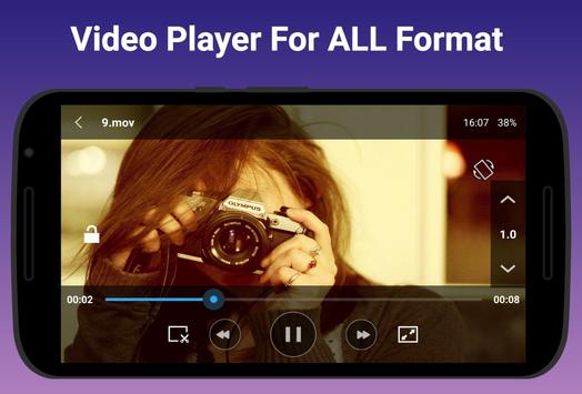 Free Video Player - All-in-One Video Player ảnh chụp màn hình 8