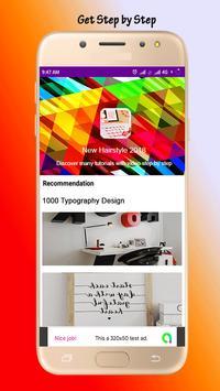 1000 Typography Design poster
