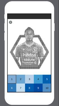 Persib Coloring by Number screenshot 2
