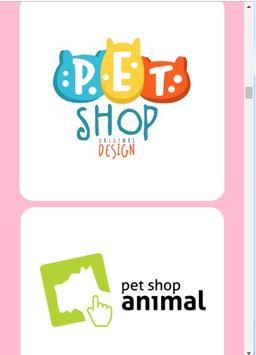 pet shop logo design ideas screenshot 7