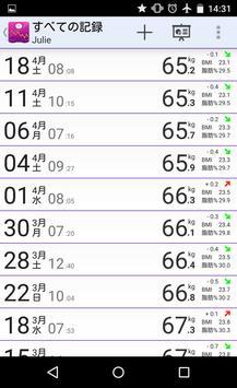 体質量指数-体重追跡機 スクリーンショット 5