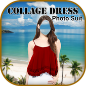 Collage Dress Photo Montage icon