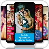 Wedding Full screen video status - Lyrical Status icon