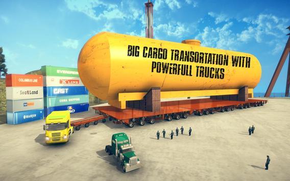 Oversized Cargo Transporter screenshot 1