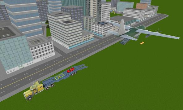real racing cars cargo plane screenshot 3